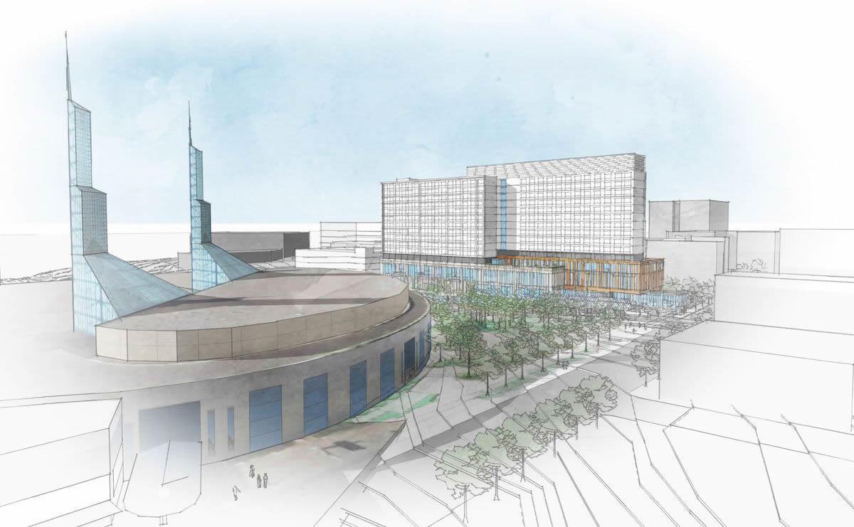 OCC hotel rendering image