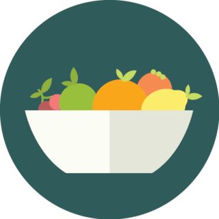 icon of a fruit bowl
