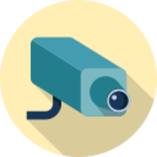 icon of a security camera