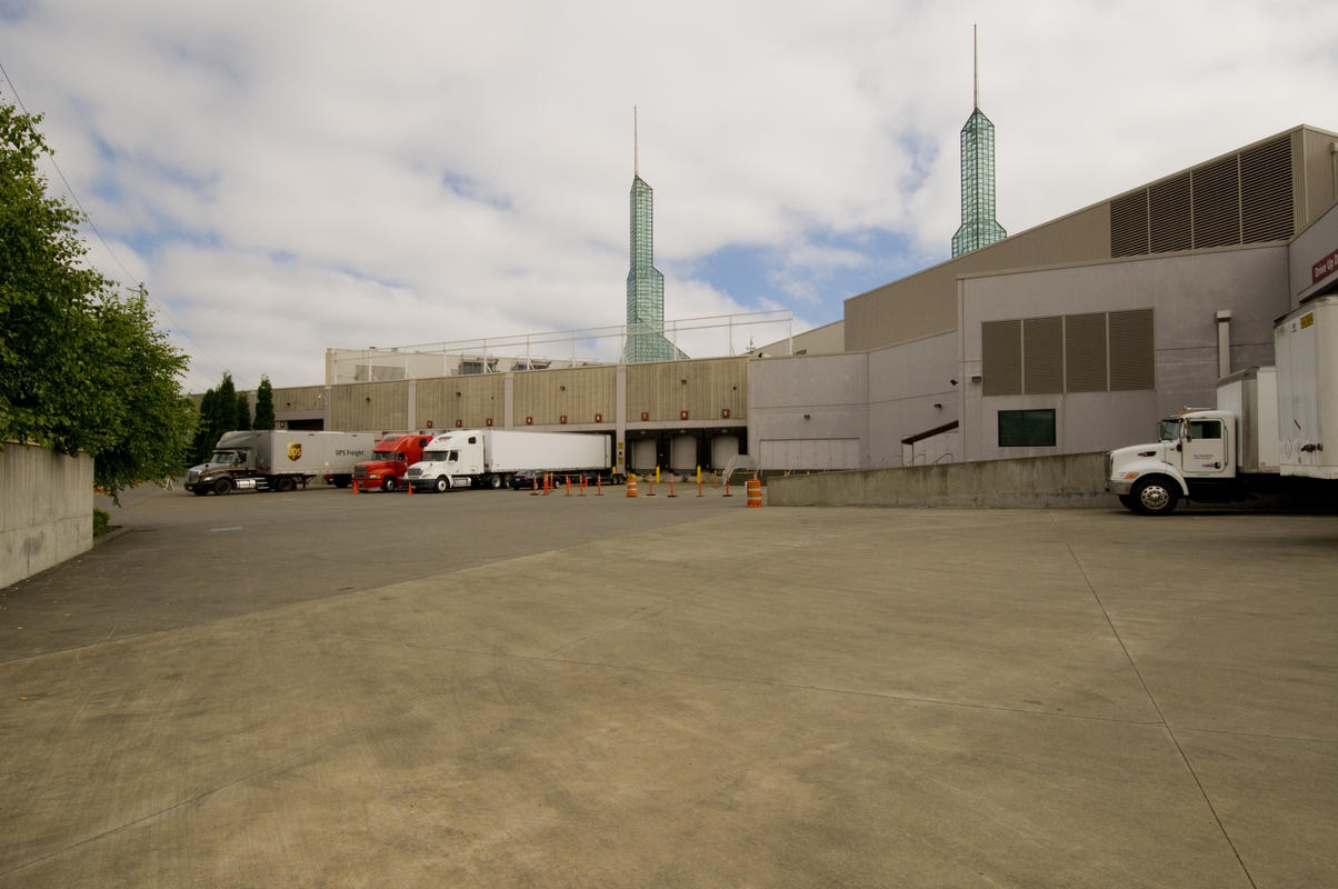 photo of the OCC loading dock area