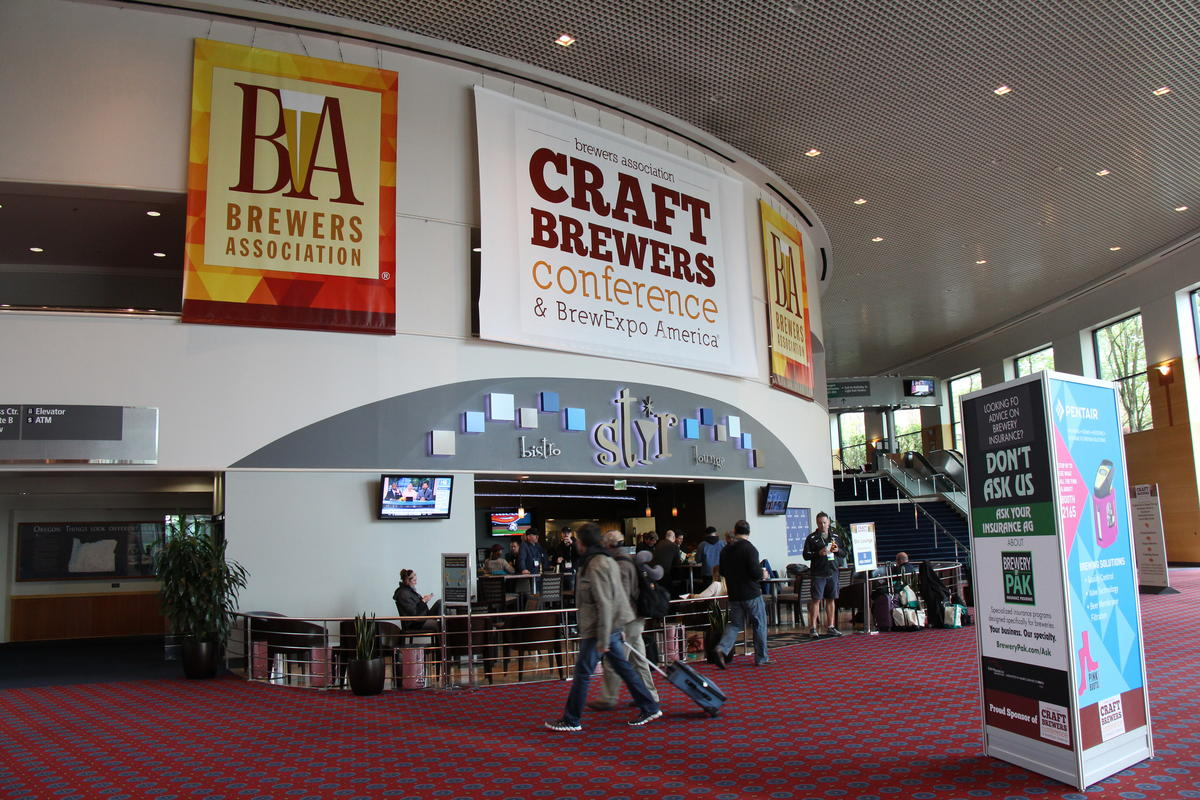Photo Of Signage For The Craft Brewers Conference