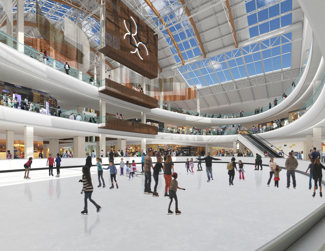 photo of Lloyd Center Mall ice rink