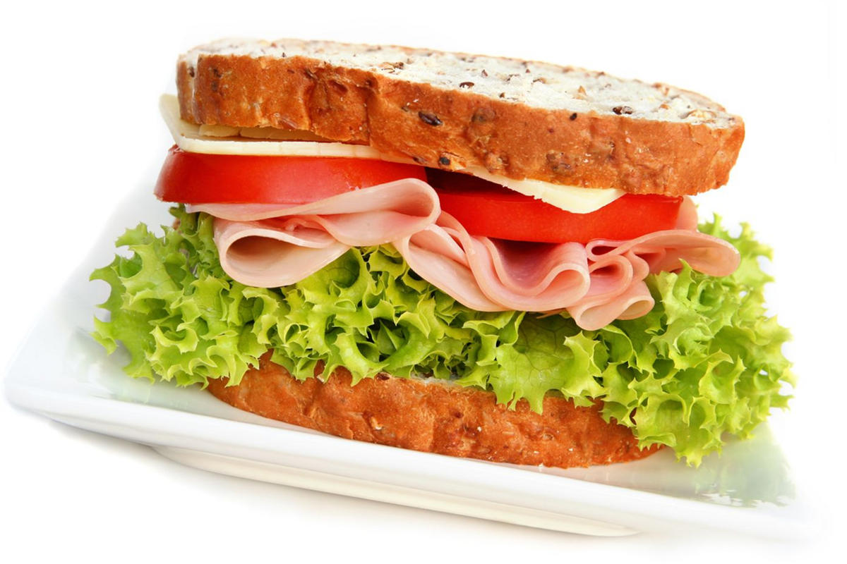 photo of a turkey sandwich