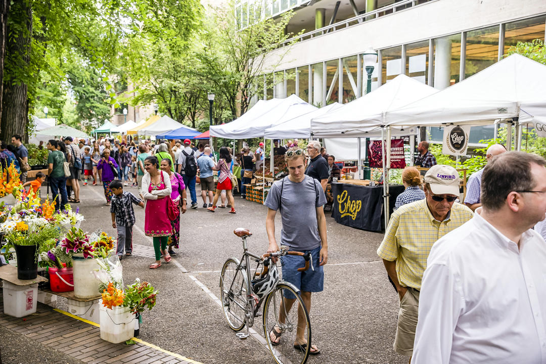 photo of PSU Farmers Market