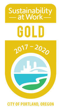 image of Portland's Sustainability at Work Gold certification