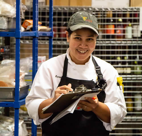 photo of pacificwild food services worker