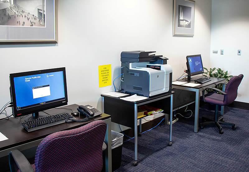 photo of OCC's self-service business center
