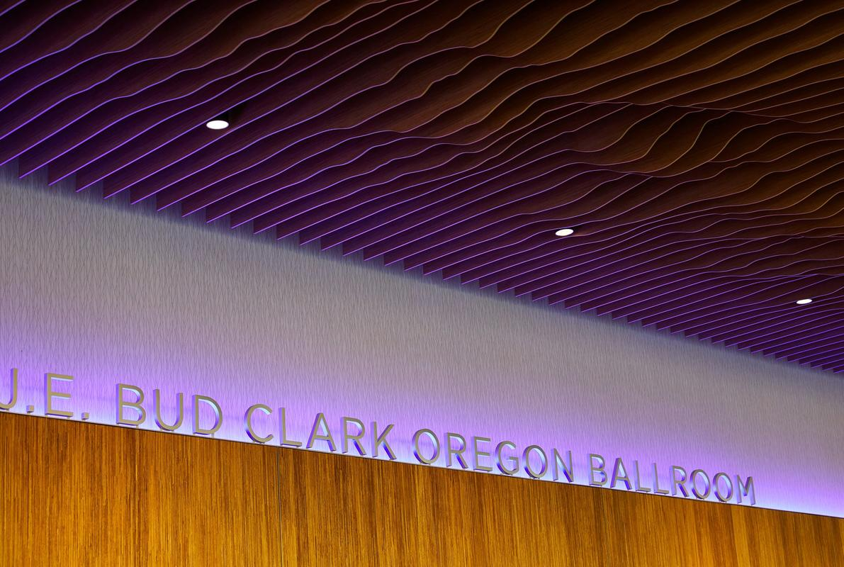 Oregon Convention Center Renovation Oregon Ballroom Ceiling Feature