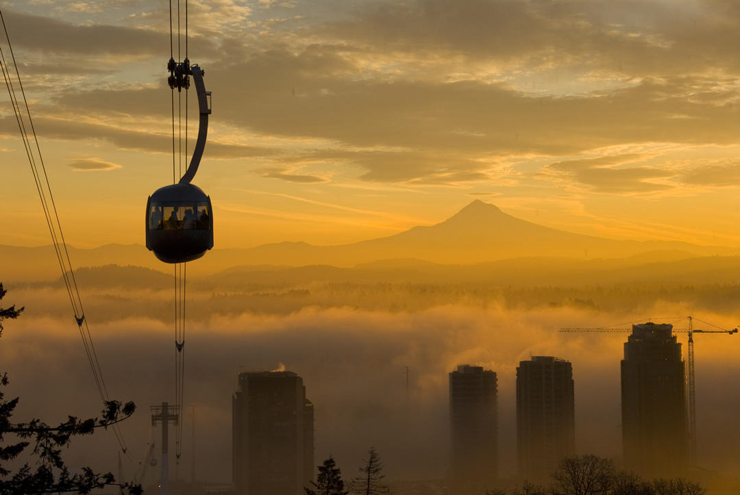 photo of Portland tram