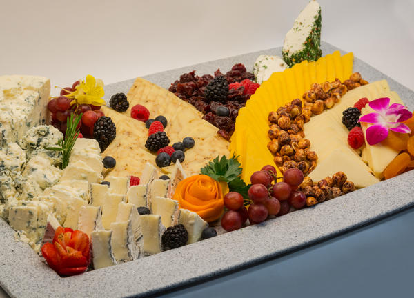 photo of a cheese tray