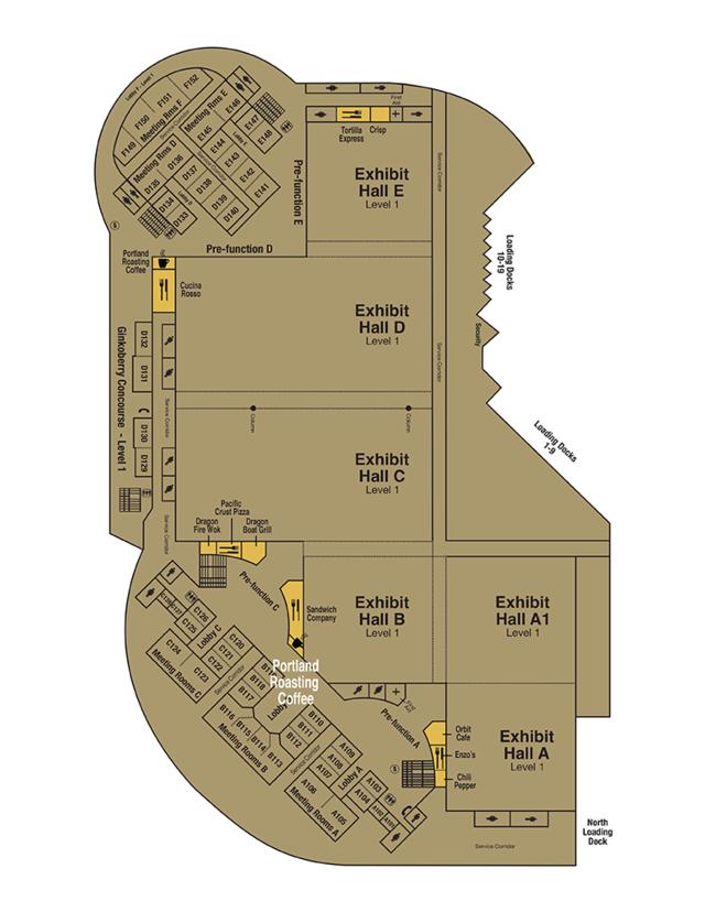 map of Portland Roasting Company 1